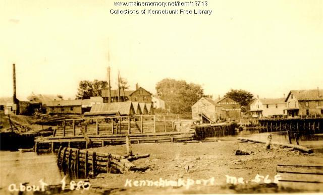 Lower Village, Kennebunk, ca. 1900