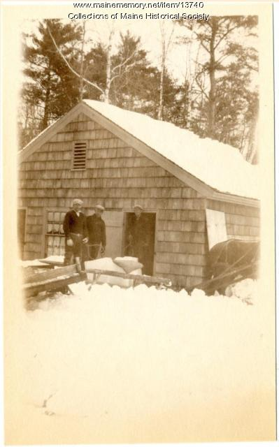 Watkins' Ice House, ca. 1920