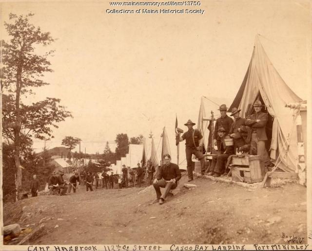 Camp Hasbrook, Fort McKinley, 1903