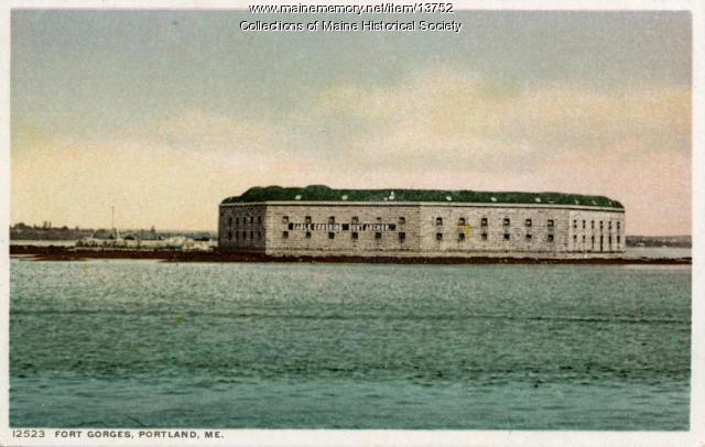 Fort Gorges, Portland, ca. 1900