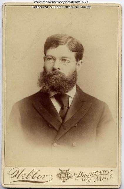William DeWitt Hyde, Brunswick, c. 1894