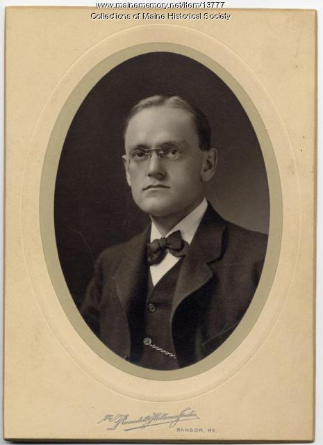 Ralph P. Plaisted, Bangor, 1902