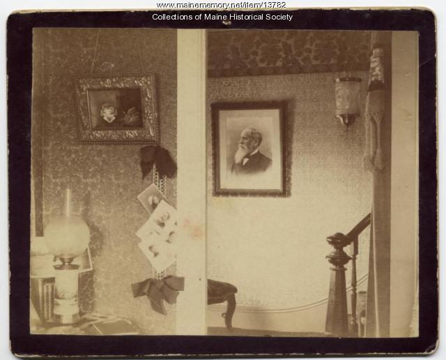 Plaisted home, Augusta, 1892