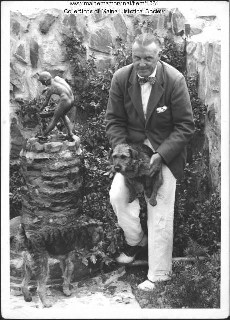 Kenneth Roberts, Kennebunkport, 1939