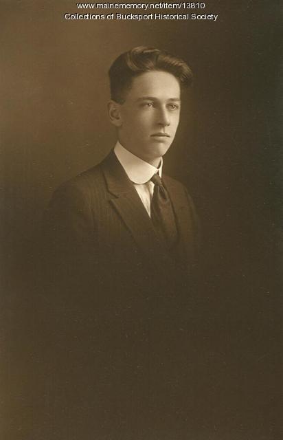 Ira C. McElwee, Bucksport, 1922