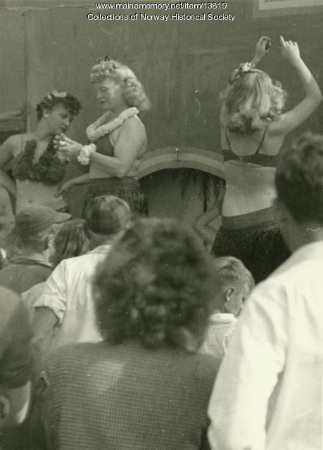 Sideshow, Oxford County Fair, ca. 1947