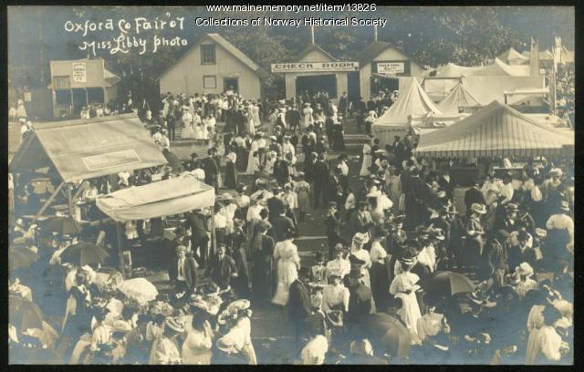 Oxford County Fair, 1907