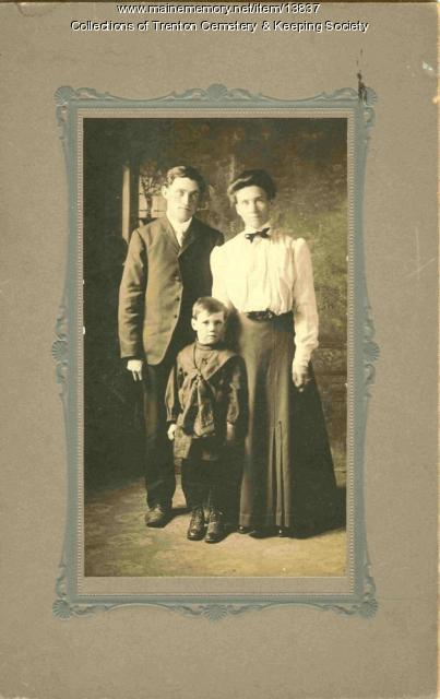 Haynes family, Trenton, ca. 1913