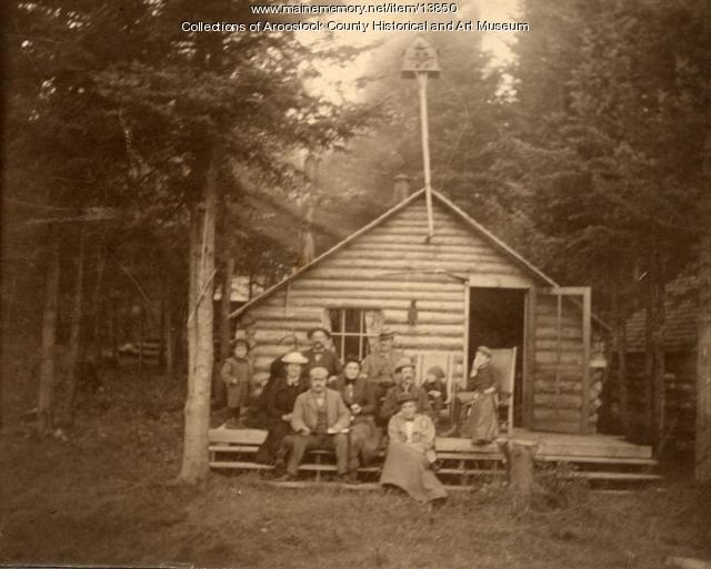 Cottage in the Aroostook Woods, 1895
