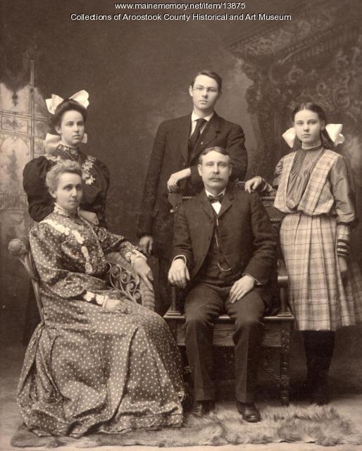 G. W. Richards Family Portrait, ca. 1905