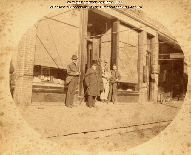 George B. Page Store, Houlton, ca. 1890