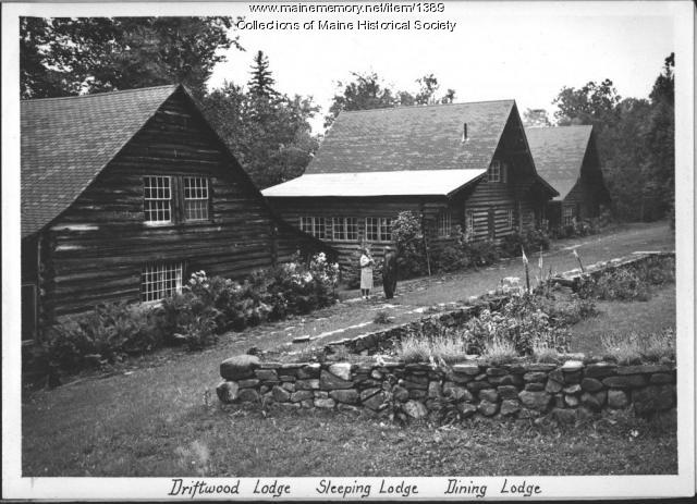 Driftwood Lodge, Rangeley Lake House, 1938