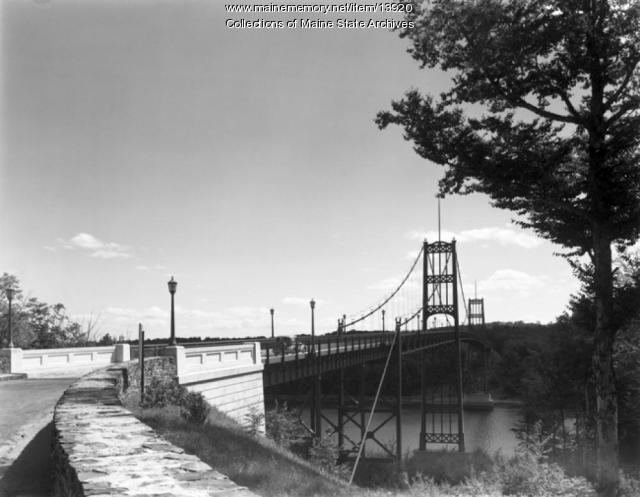 1936 Photograph of Waldo-Hancock Bridge