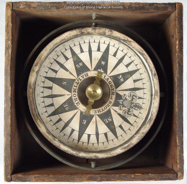 Mariner's Compass, ca. 1850