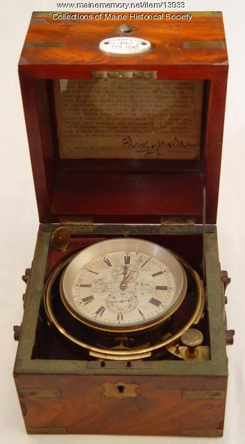 Chronometer from the Fishing Ship Archer, ca. 1863