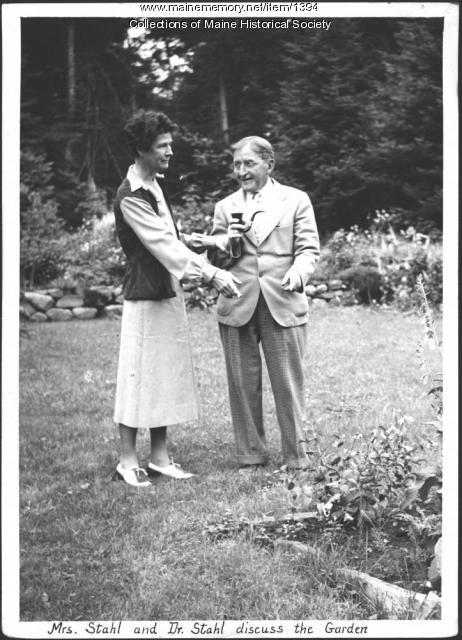 The Stahls, Rangeley, 1938