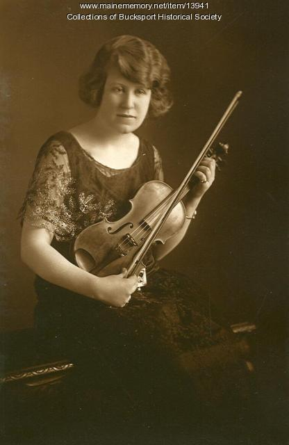 A. Elinor Hunter, Bucksport, ca. 1923
