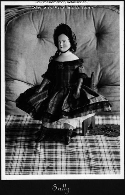 Doll 'Sally,' Monhegan, 1938