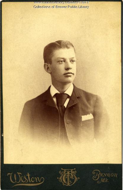 Allan Trask, Brewer, ca. 1890