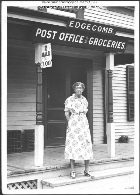 Fannie E. Stone, Edgecomb, 1939