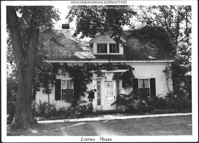 Lienau House, Wiscasset, 1939