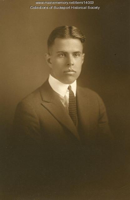 George McKay Lord, Bucksport, ca. 1923
