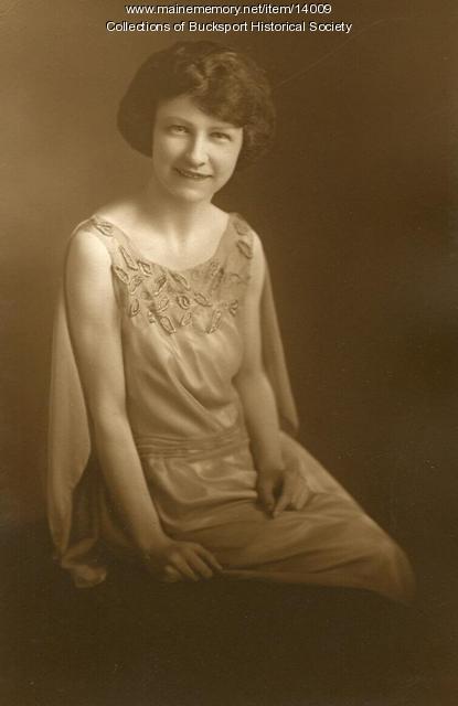 Helen M. Dunbar, Bucksport, 1923