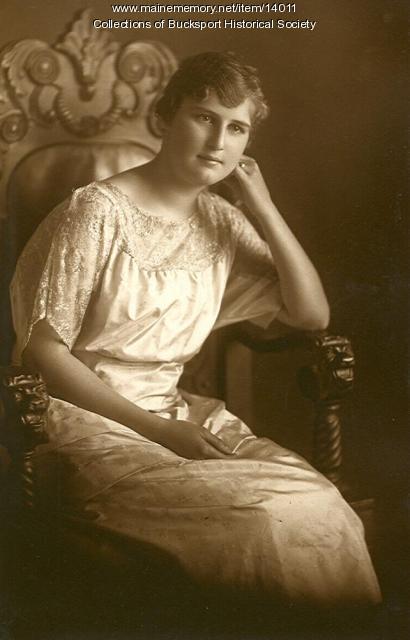 L. Beryl Dorr, Bucksport, 1923