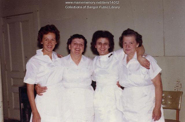 Bangor House employees, 1968