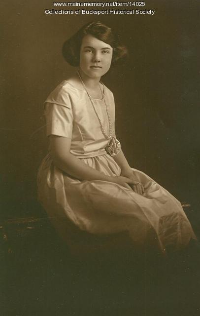 Hilda C. Leach, Bucksport, 1922