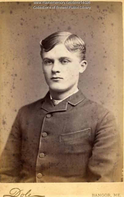 Frank Patten, Bangor, ca. 1870