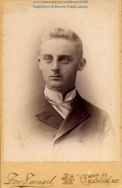 Fred Patten, Bangor, ca. 1870