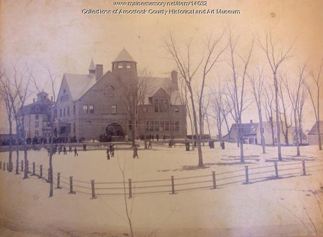 Wording Hall, Ricker Classical Institute, Houlton, ca. 1900