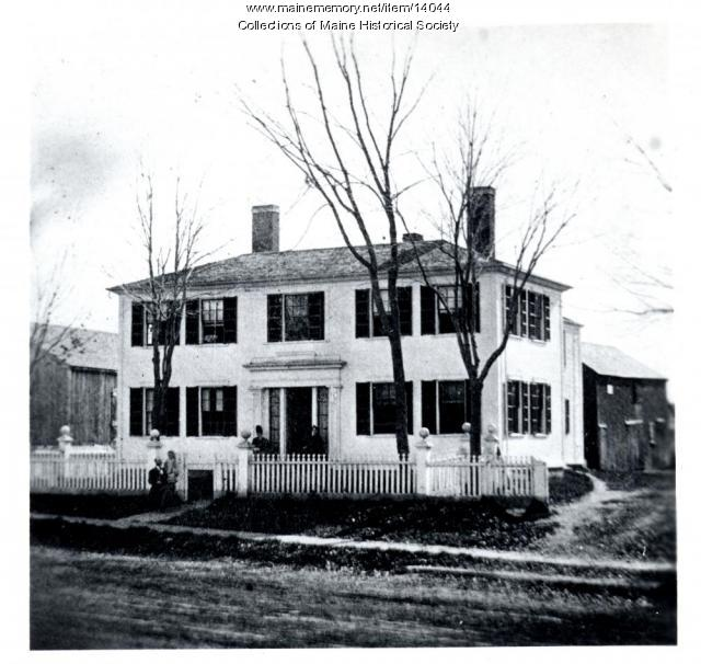 Edwards House, Westbrook, ca. 1880
