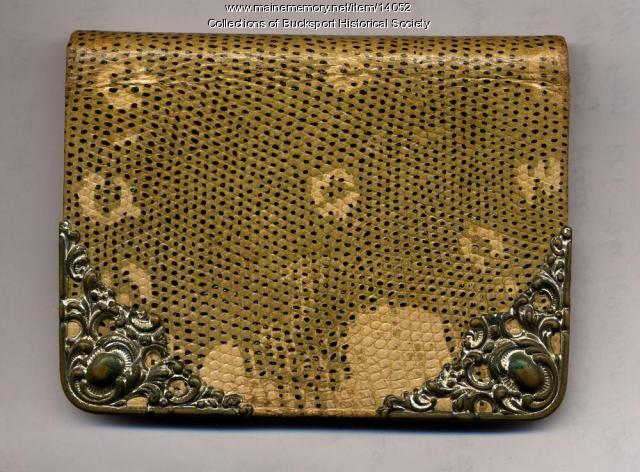 Purse Belonging to Sarah Ware