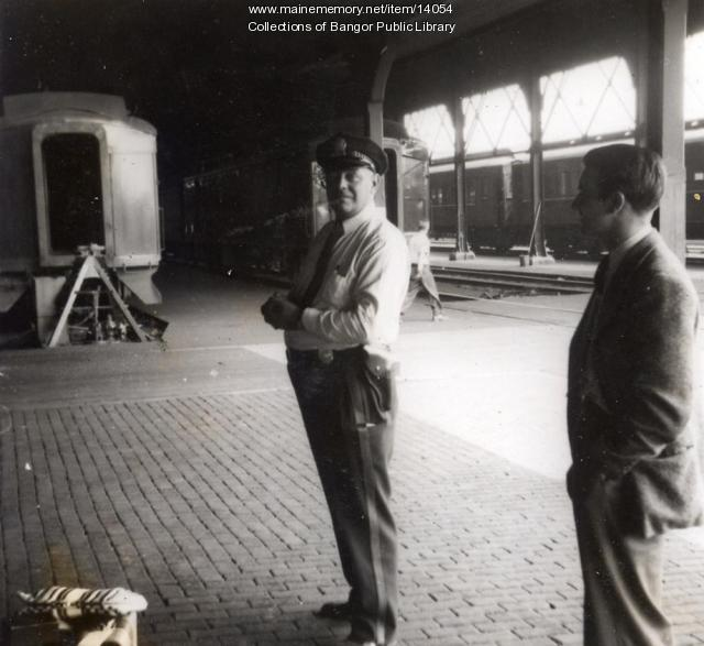 Bangor Police Officer, Union Railroad Station