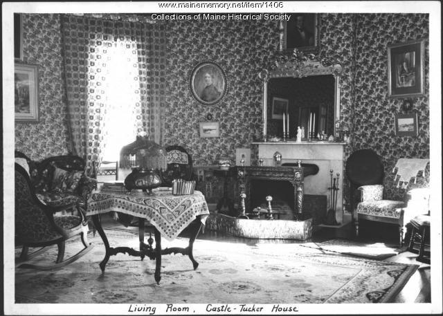 Living room, Castle-Tucker House, Wiscasset