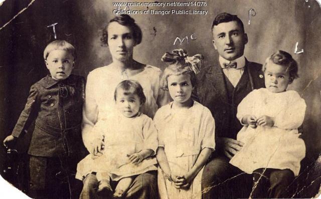 Surette Family, Mexico, 1919