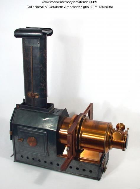 Magic Lantern Slide Projector, c. 1895