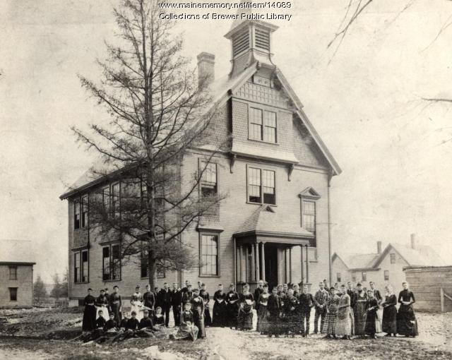 Brewer High School, 1889
