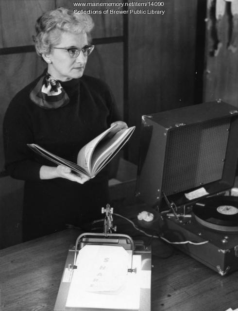 Constance Holling - Librarian