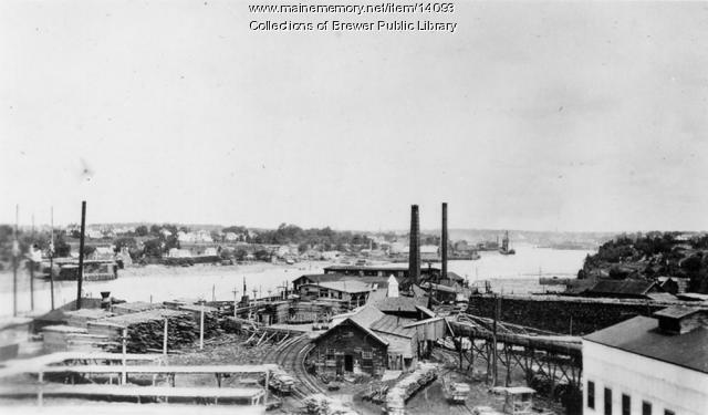 Eastern Manufacturing Company, Brewer, 1890