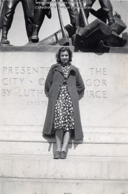 Flossie Gordon, Bangor, 1939