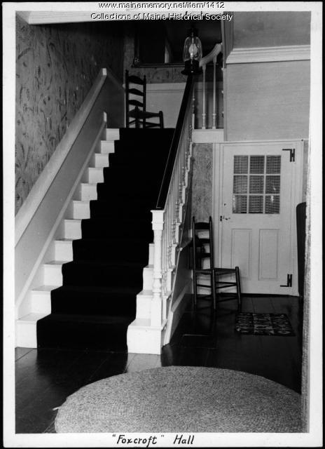 Foxcroft Hall, New Gloucester