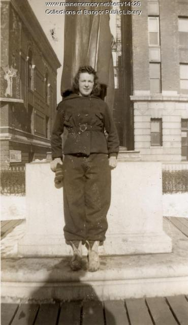 Louise Surrette, Bangor, 1939