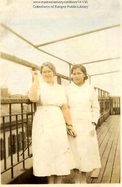 Nurses, Children's Hospital, Portland, 1934
