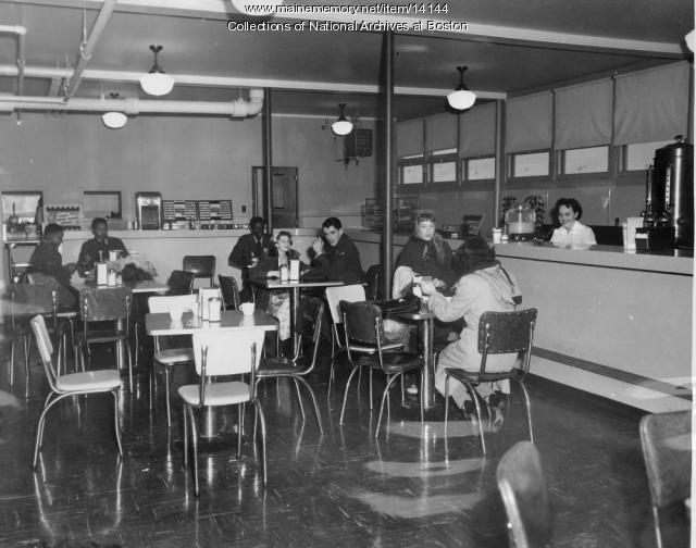 Snack Bar, Loring AFB, 1953