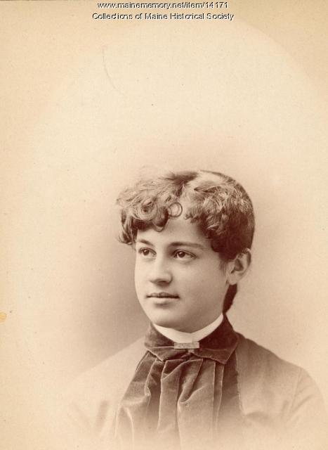 Jennie C. Partridge, Portland, 1885