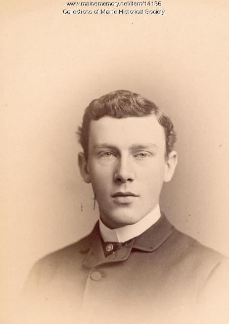 Charles B. Mitchell, Portland, 1885
