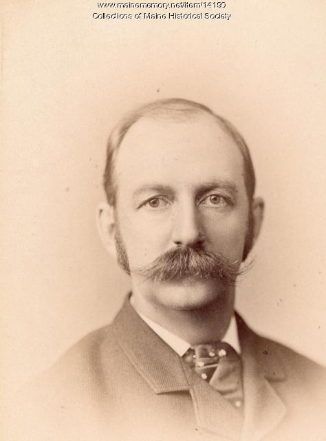 Albro Chase, Portland, 1885